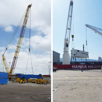 KOCKS Container Gantry Cranes supplied to Haifa Port - Kamor Logistics